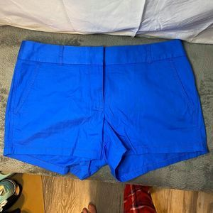 j crew chino shorts blue new with tags